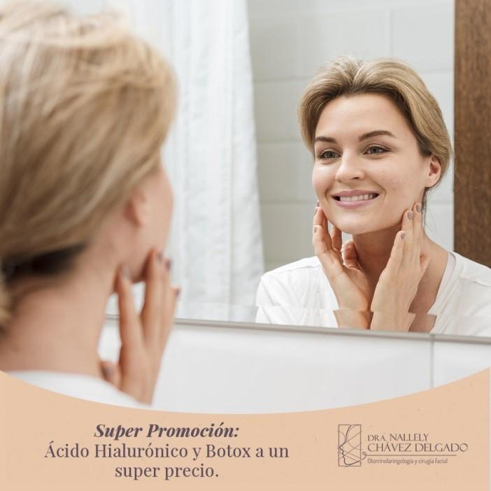 Botox y Ácido Hialurónico a un súper precio